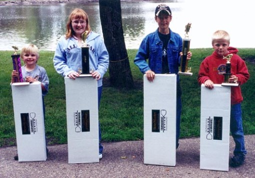 Take a Kid Fishing Tournament prize winners