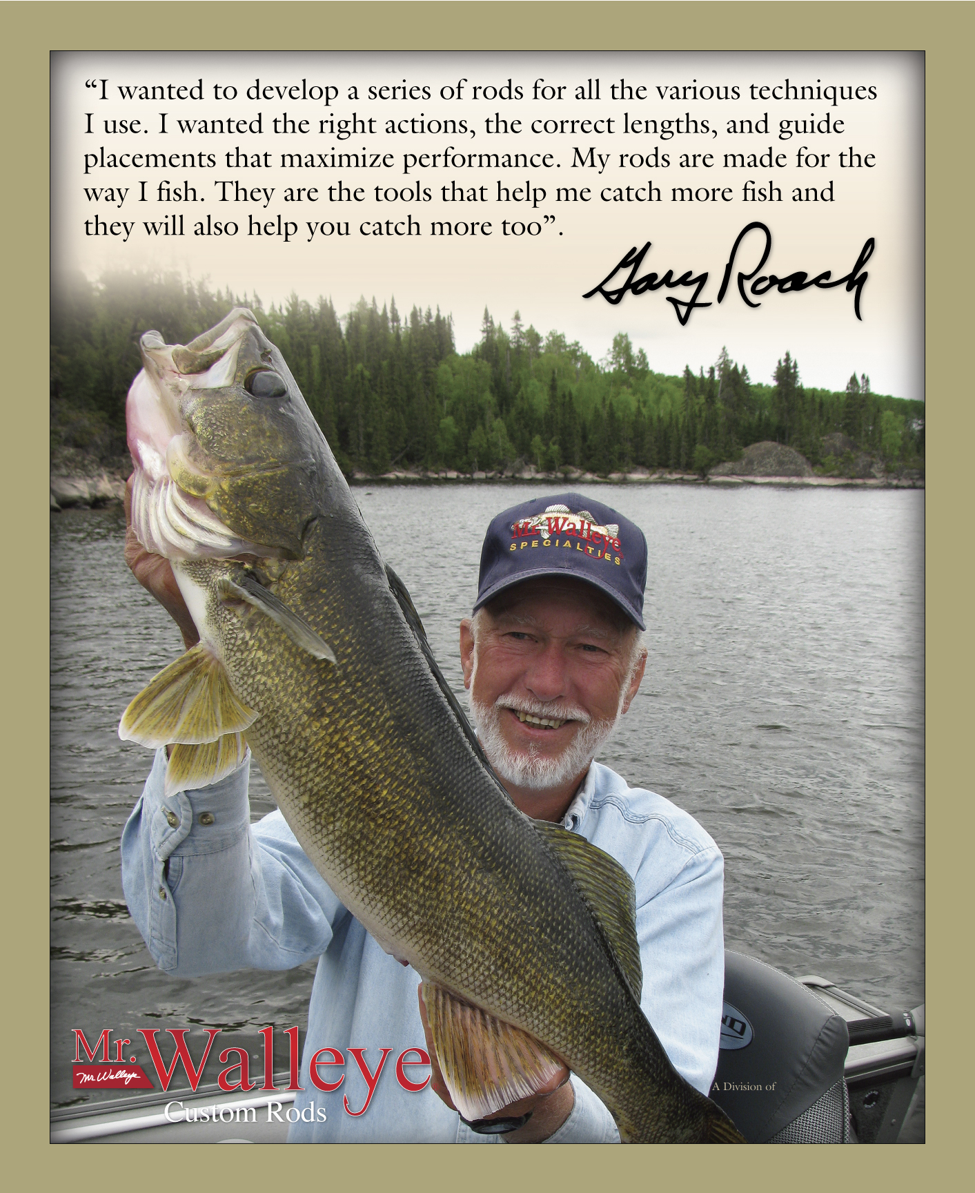 "Gary ""Mr. Walleye"" Roach"